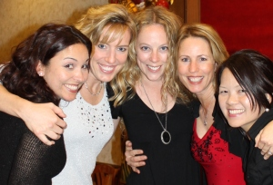 "Micki, Kristen, Bridget, Me and Diana ""Bones"""